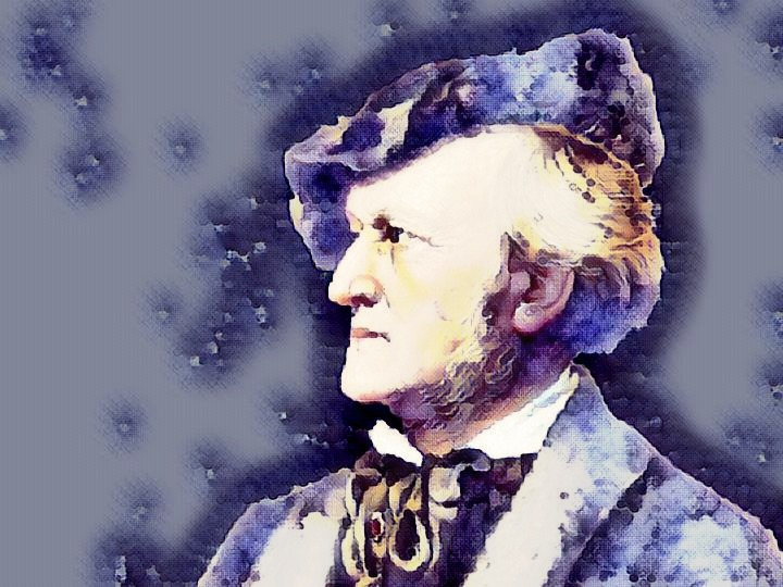 richard wagner portrait watercolor